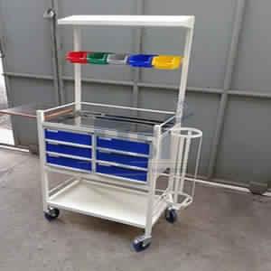 ICU Medical Crash Cart